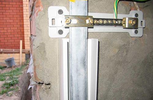 прокладка электропроводки в квартире заземление