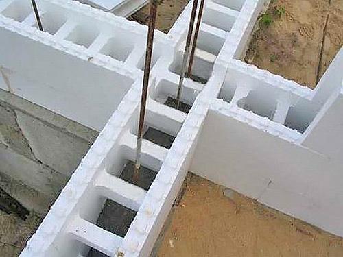 материал для стен дома пенопласт