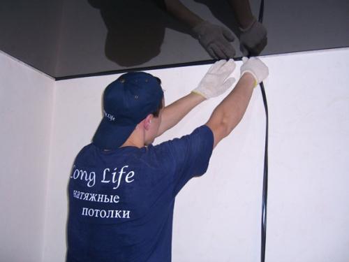 как сделать натяжной потолок своими руками