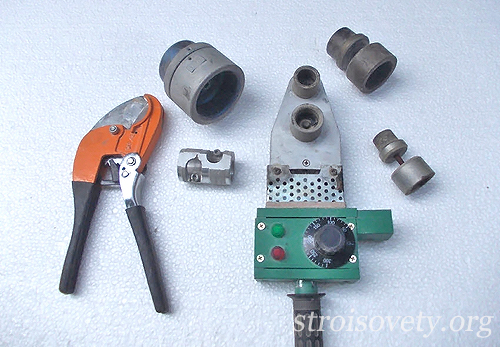 инструмент для пайки полипропиленовых труб