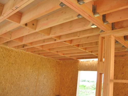 межэтажные перекрытия в деревянном доме
