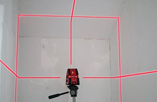 как работать с лазерным уровнем фото