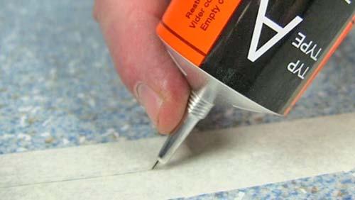 как стыковать линолеум при укладке