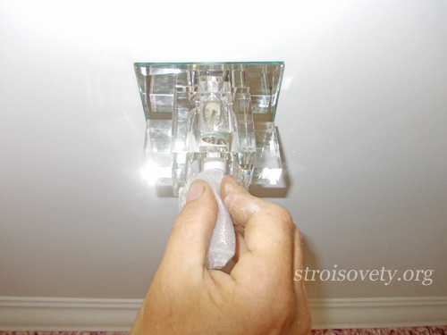 установка точечных светильников своими руками