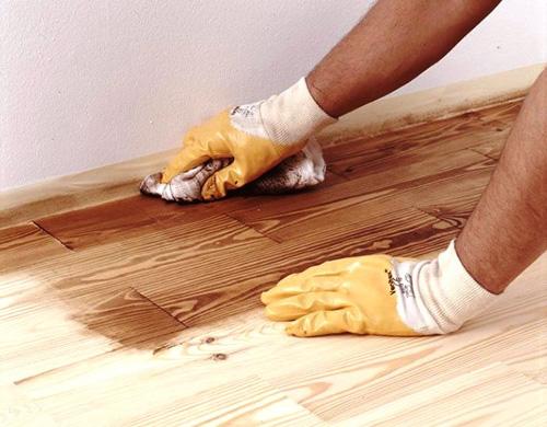 устройство деревянного пола своими руками