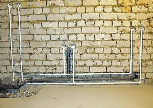 последовательная схема водопровода в квартире фото