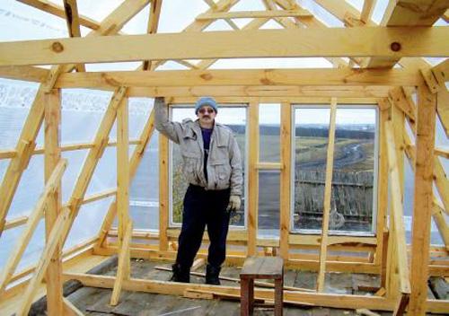как сделать стропила для крыши своими руками