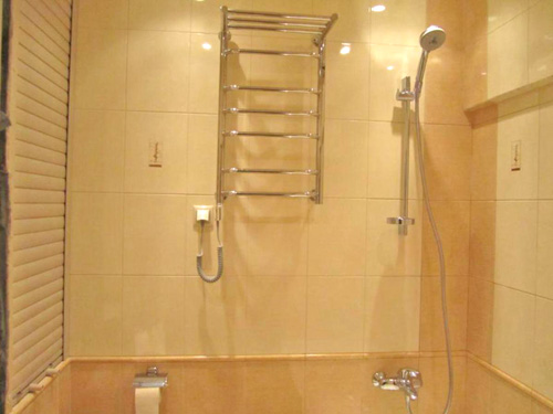 полотенцесушитель для ванной своими руками фото