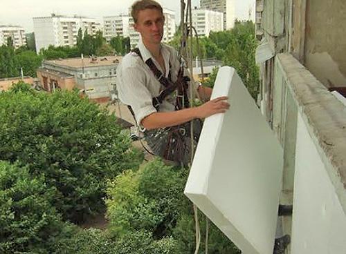 технология утепления стен пенопластом своими руками