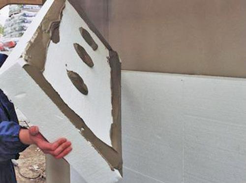 утепление стен дома снаружи пенопластом фото