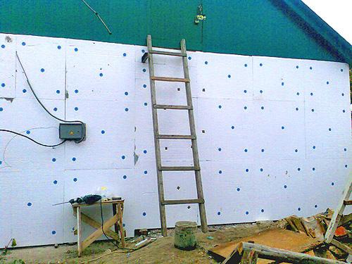 наружный утеплитель для стен