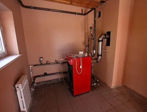 как сделать отопление дома с естественной циркуляцией