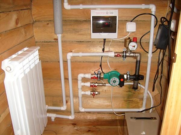 электрические системы отопления фото