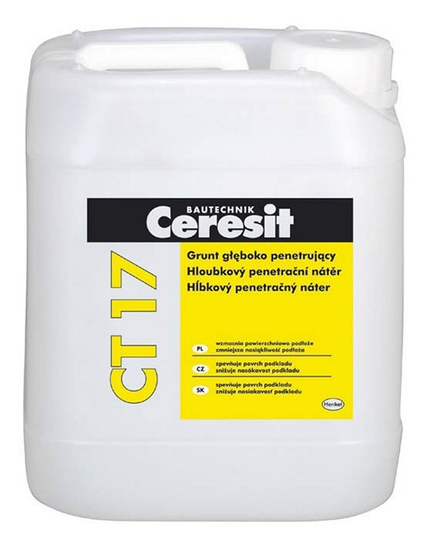 универсальная грунтовка Ceresit CT 17 фото