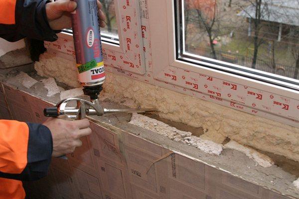строительная монтажная пена как работать с ней