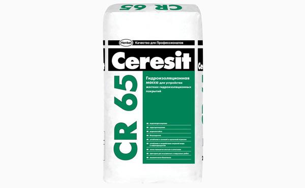 гидроизоляция на цементной основе Ceresit CE 65