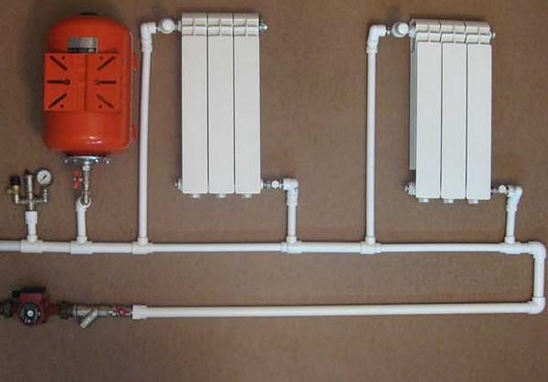 система отопления из полипропиленовых труб фото
