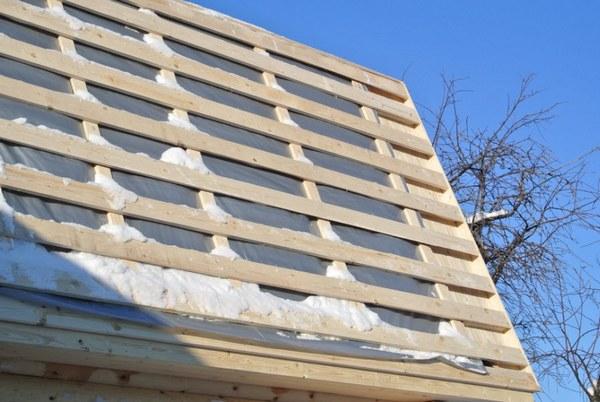 зачем нужна обрешетка крыши частного дома