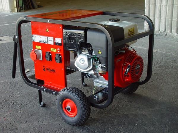 генератор электрический бензиновый фото
