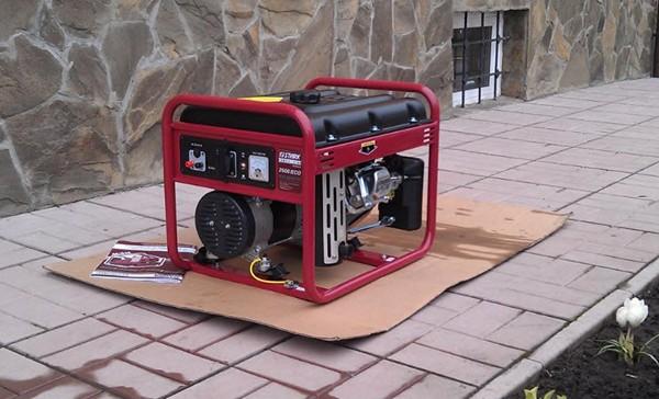 бытовой электрогенератор фото
