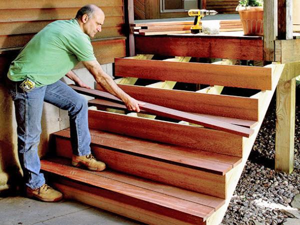 декоративная отделка лестницы своими руками фото