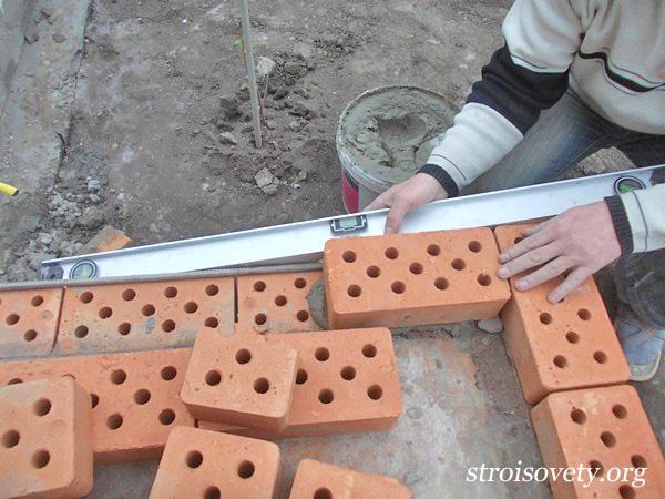 как сделать крыльцо из кирпича и бетона фото