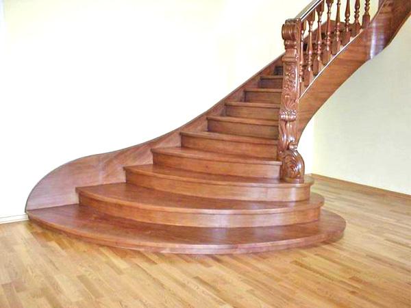 лестницы для дома деревянные фото