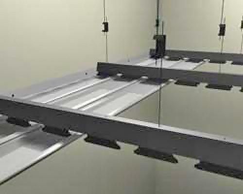 как установить реечный потолок фото