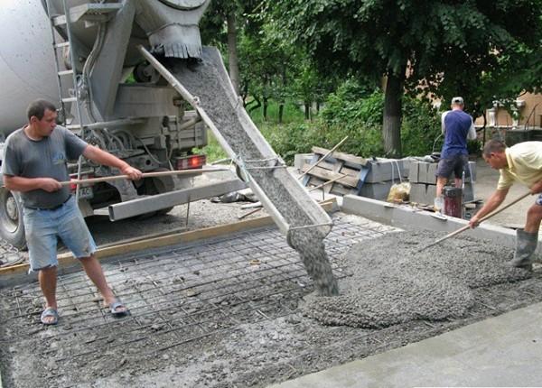 сколько нужно бетона на фундамент фото