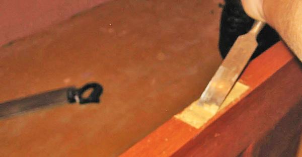 врезка замка в деревянную дверь своими руками фото