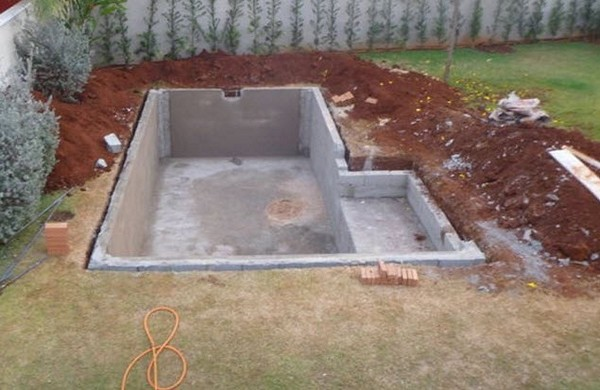как построить бассейн своими руками фото