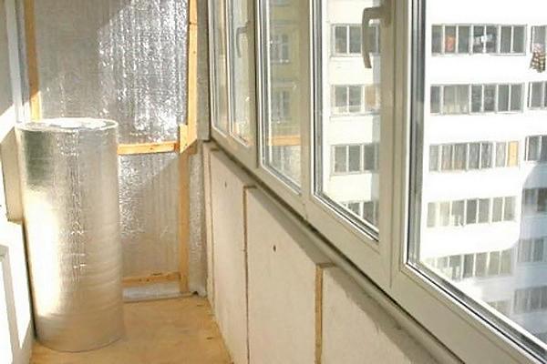 как лучше утеплить балкон своими руками