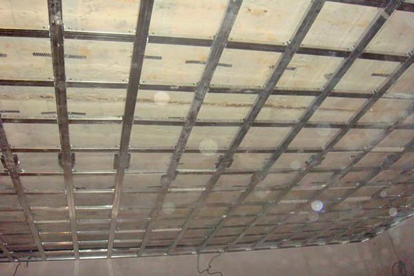 кессонный потолок своими руками фото