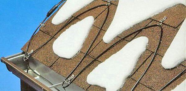 обогрев крыши и ливневок фото