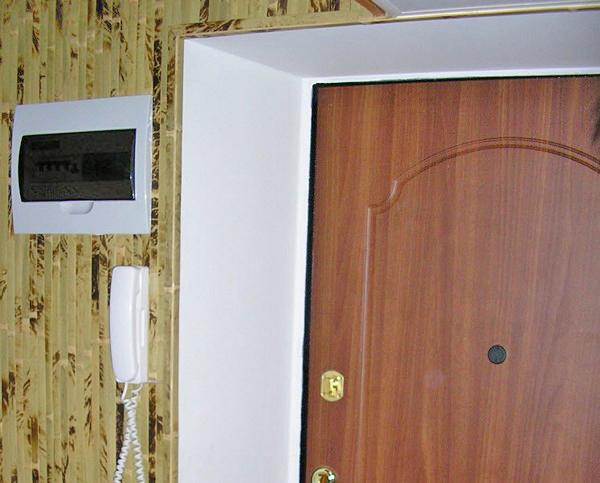 отделка откосов входной двери своими руками