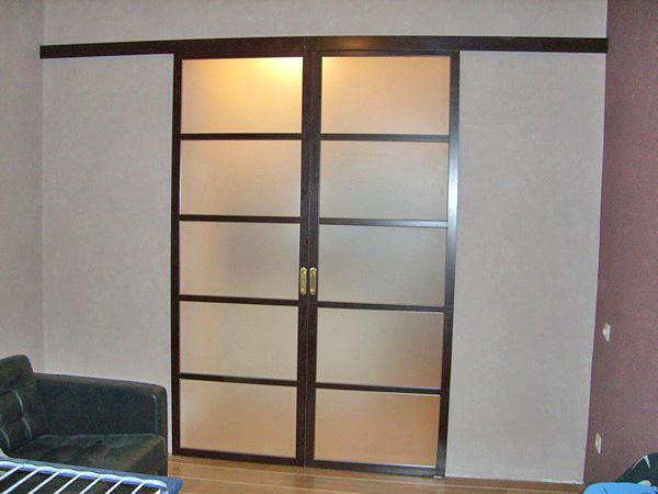 установка раздвижных дверей своими руками