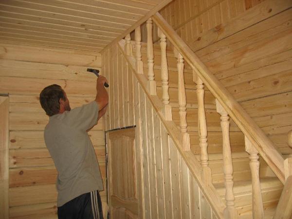 этапы строительства дома отделка своими руками фото