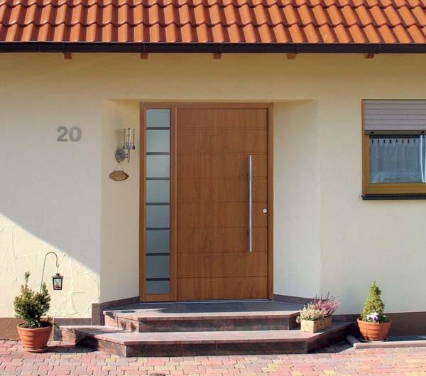 входные двери для частного дома фото