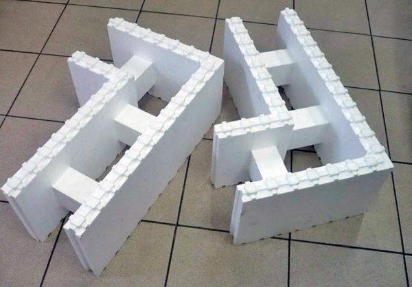 блоки несъемной опалубки фото