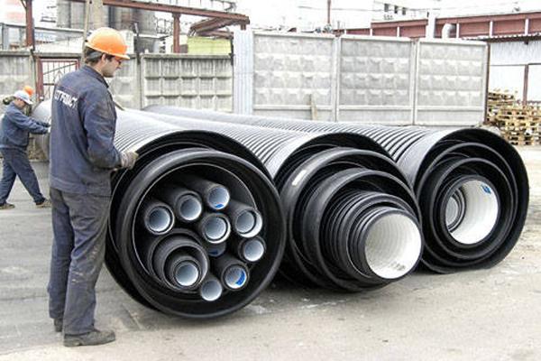 размеры пластиковых труб для канализации