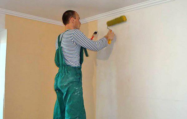 подготовка стен к поклейке обоев фото