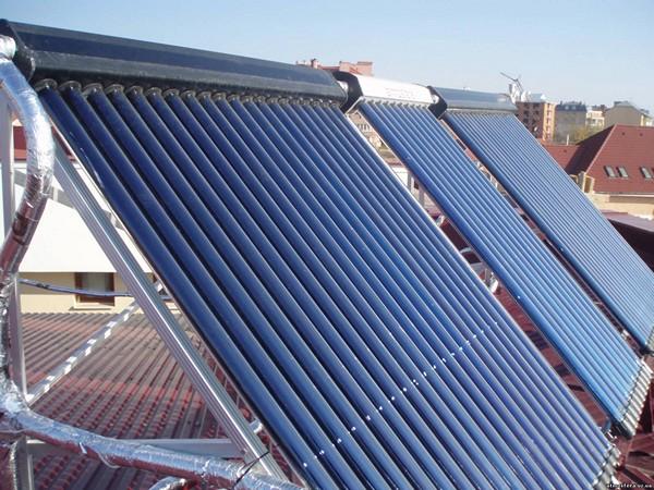 как работает солнечный коллектор зимой