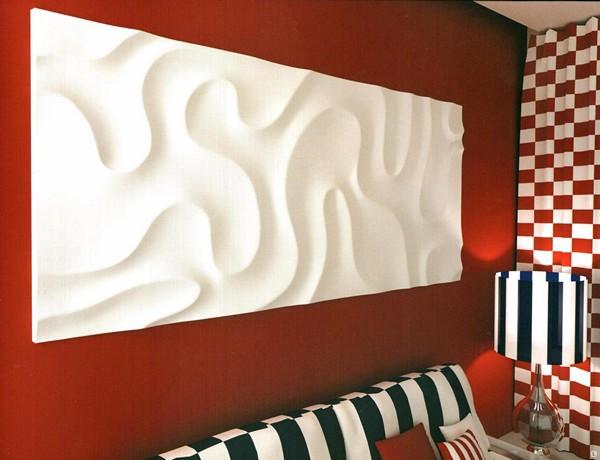 как установить стеновые 3d панели