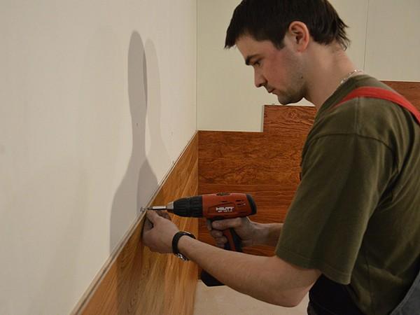 монтаж стеновых панелей  своими руками фото