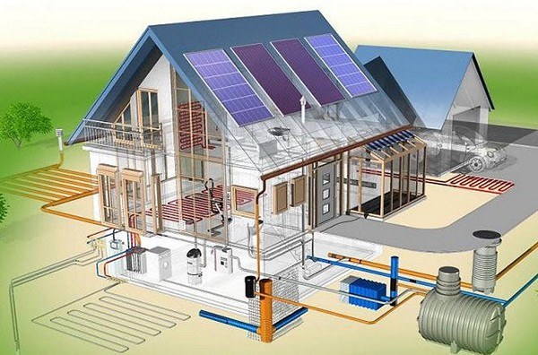 схема водоснабжения загородного дома