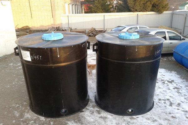 емкости для хранения воды с поплавком