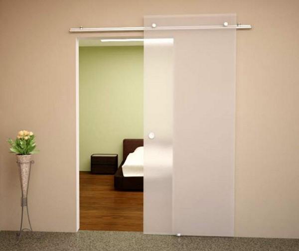 двери межкомнатные стеклянные фото