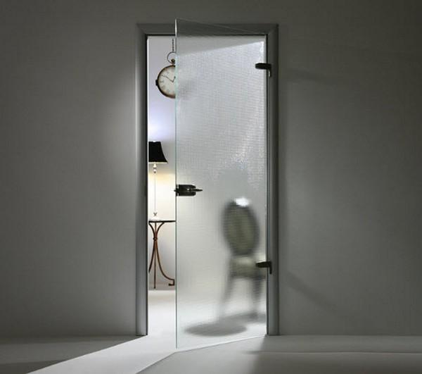 стеклянные двери в комнату фото