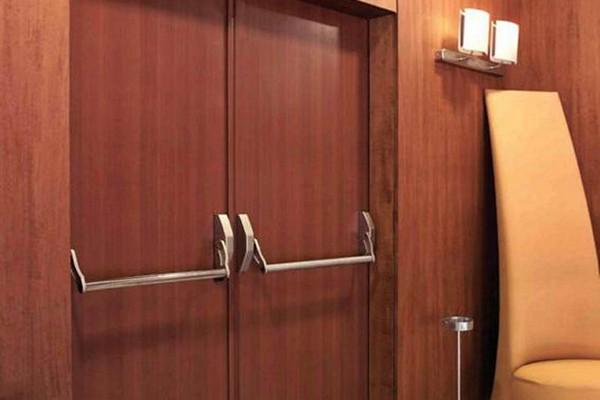 двупольные двери противопожарные фото