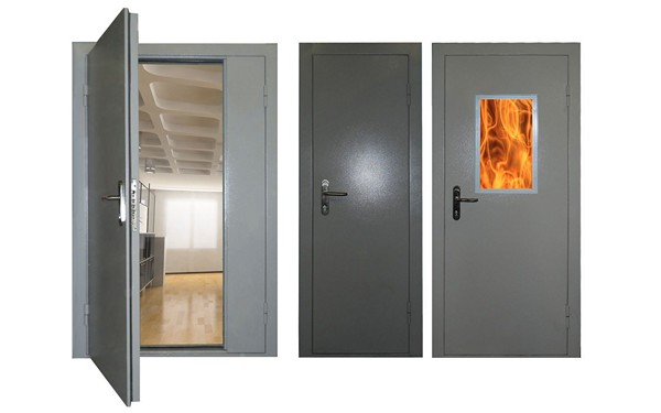 разновидности противопожарных дверей